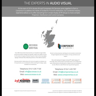 Sound digital thinking for two AV experts…with more to come