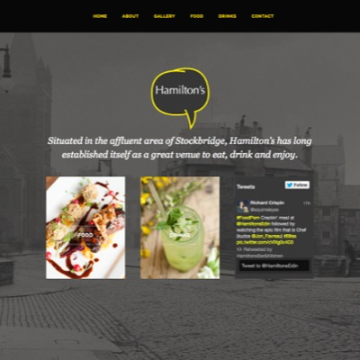 Serving up top websites for a trio of city bars