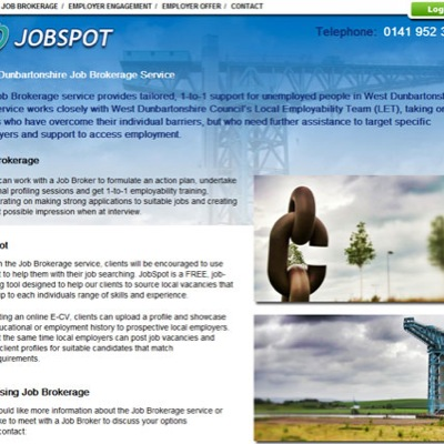 West Dunbartonshire Council: Jobspot