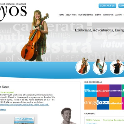 The National Youth Orchestras of Scotland (NYOS)