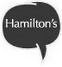 Hamilton's Bar & Kitchen Logo