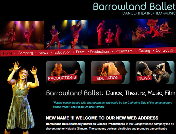 BarrowlandBallet Newsletter Manager