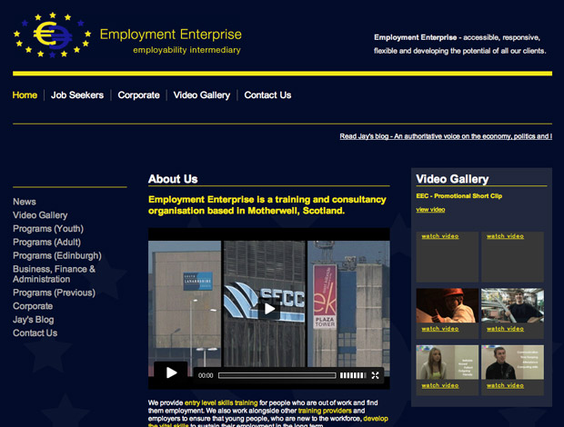 Employment Enterprise new site launches