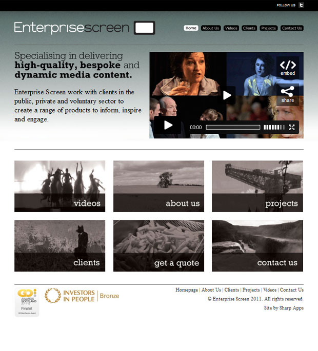 Enterprise Screen