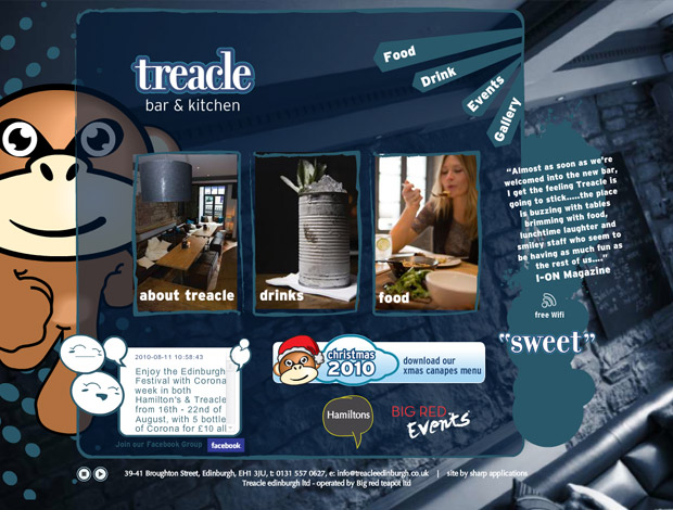 Treacle Goes Live!