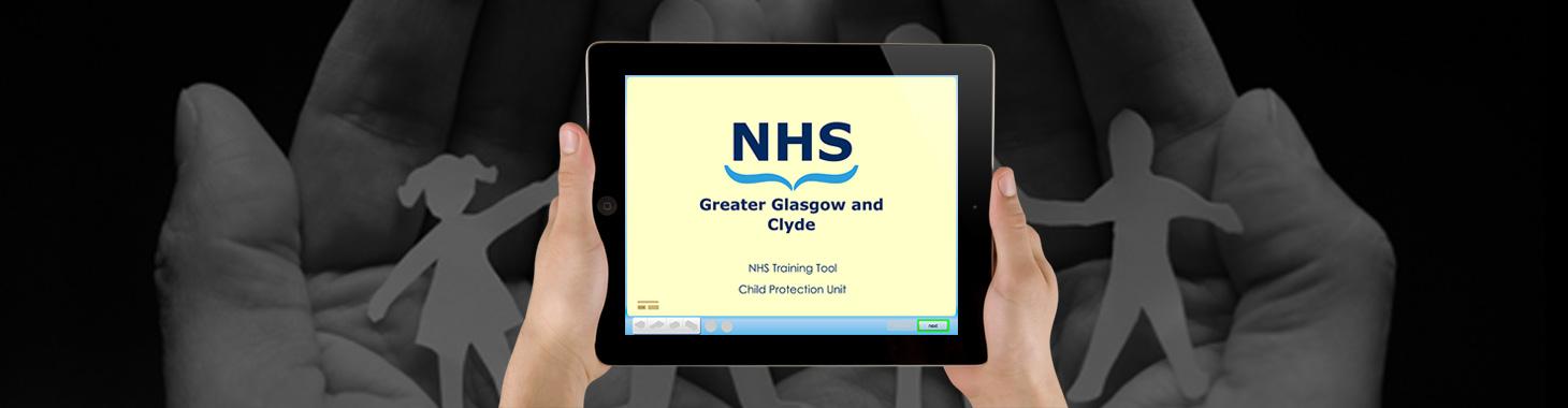 NHS GGC App Banner